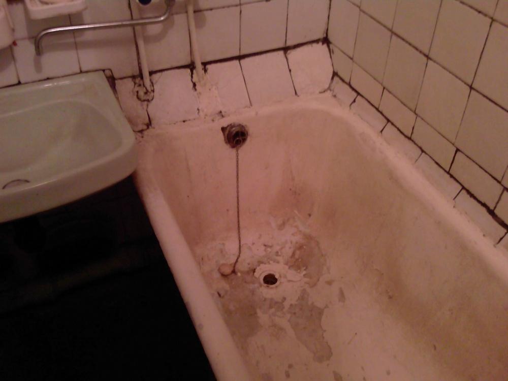 Как отремонтировать своими руками ванну