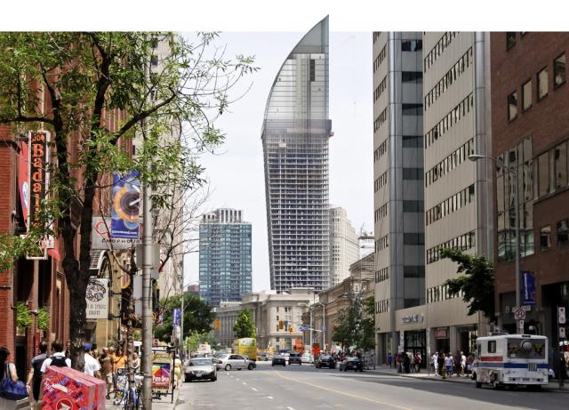 Дом-клинок в Торонто