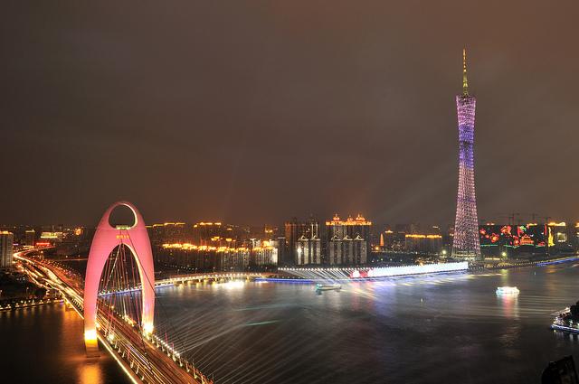 Самый высокий небоскреб Китая