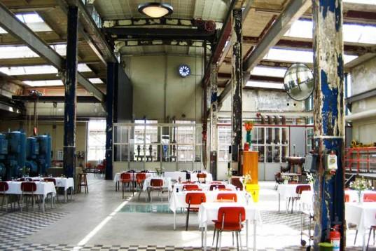 Ресторан в здании электростанции