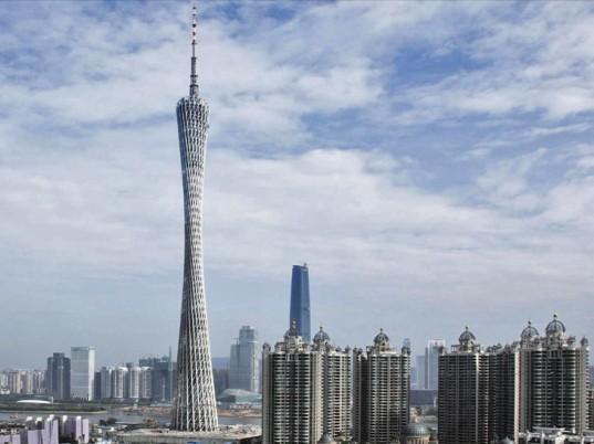 Небоскреб Canton Tower