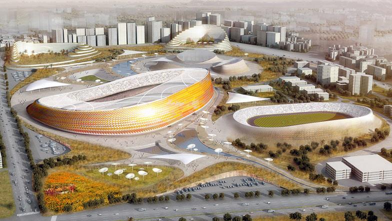 Футбольный стадион в Аддис-Абебе