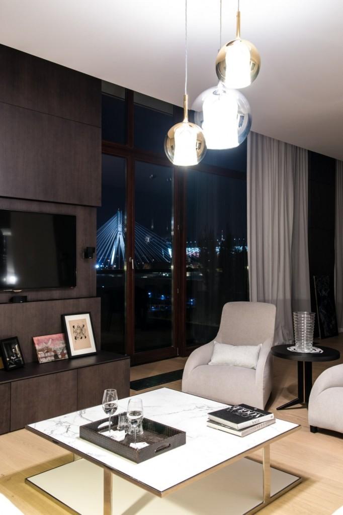 Квартира в Варшаве в стиле High-Tech