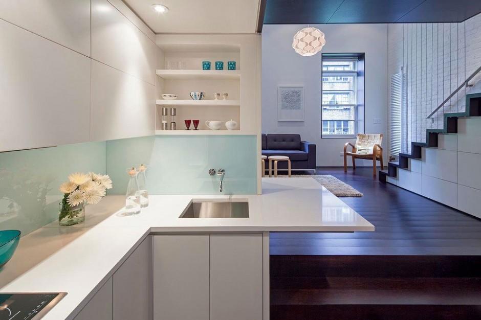 Квартира в четыре уровня в Нью-Йорке