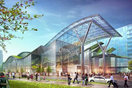 Здание вокзала в Вашингтоне