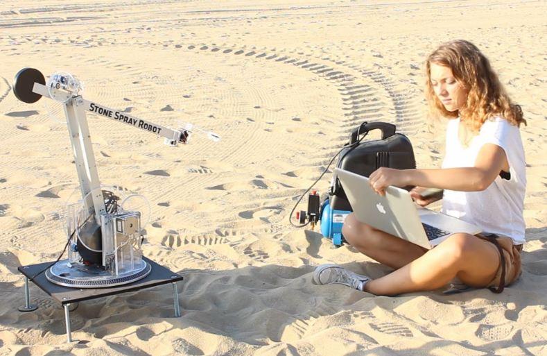 3D печать зданий из песка