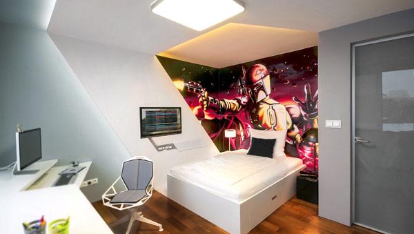 Детская комната в стиле Звездных Войн