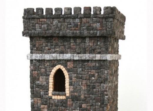 Замок из волос