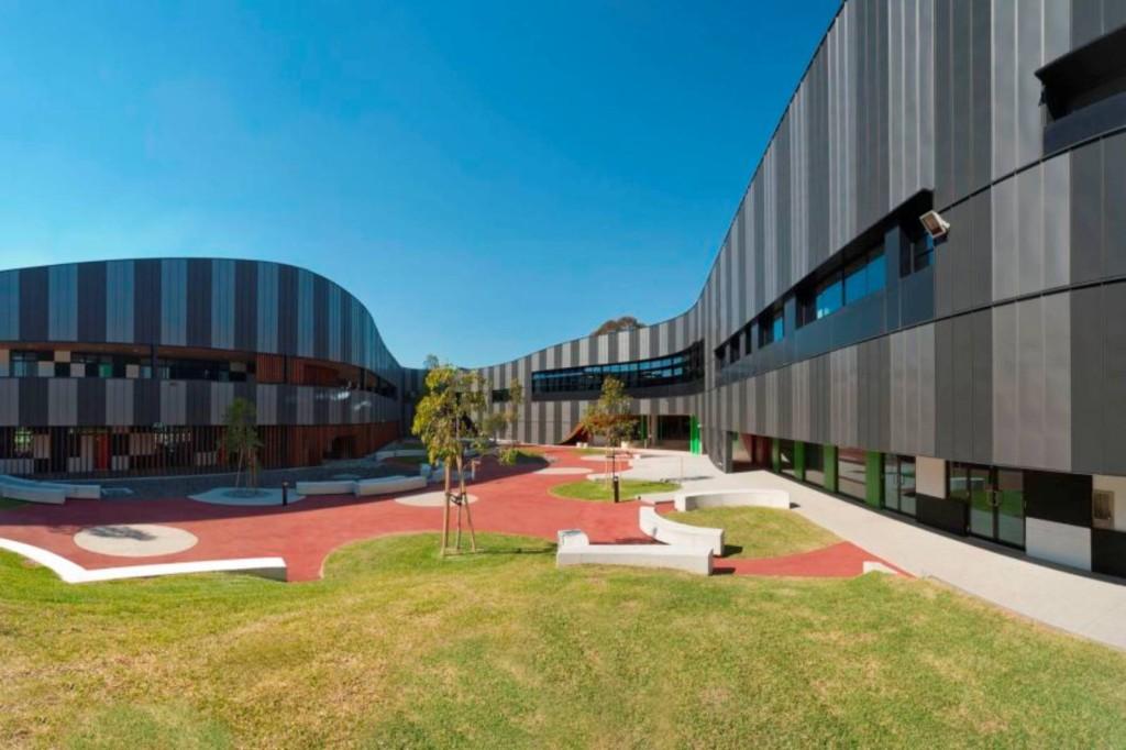 Здание гимназии PEGS в Мельбурне