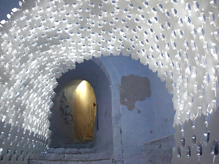 Тоннель из бумаги